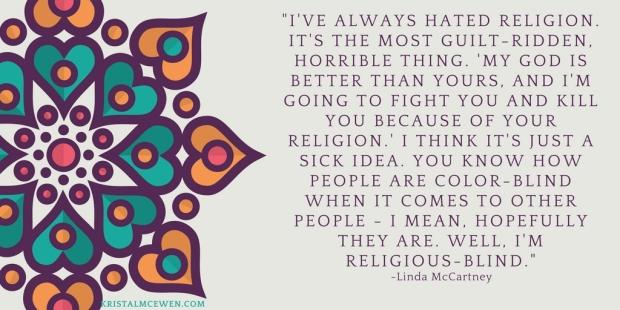 religion-blind